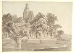 Hindu temple at Brindaban (U.P.). 4-5 February 1789